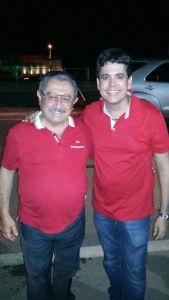 Senador José Maranhão e Fábio Fernandes