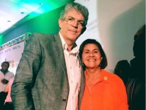 Governador Ricardo Coutinho e Maria Eunice