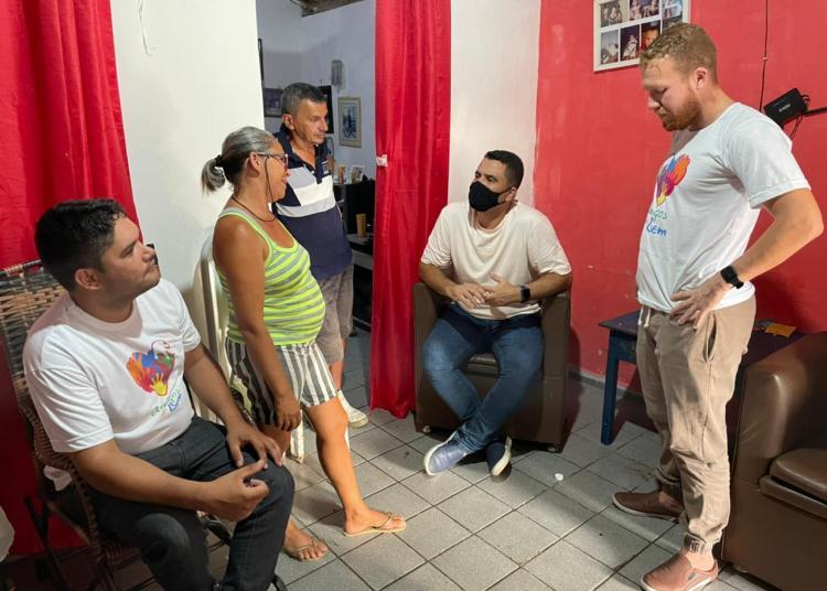 UNINDO FORÇAS E DE OLHO NA ALPB: Pedrito realiza visitas a cidades vizinhas de Cruz do Espírito Santo