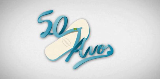 50 anos das Havaianas