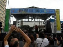 Palco na Cásper Líbero apresentou novas bandas