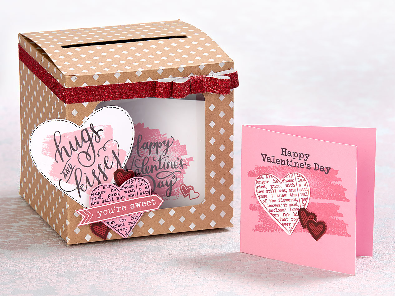 Crafting With Kids Valentine Boxes