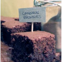 Brownies alla cannella