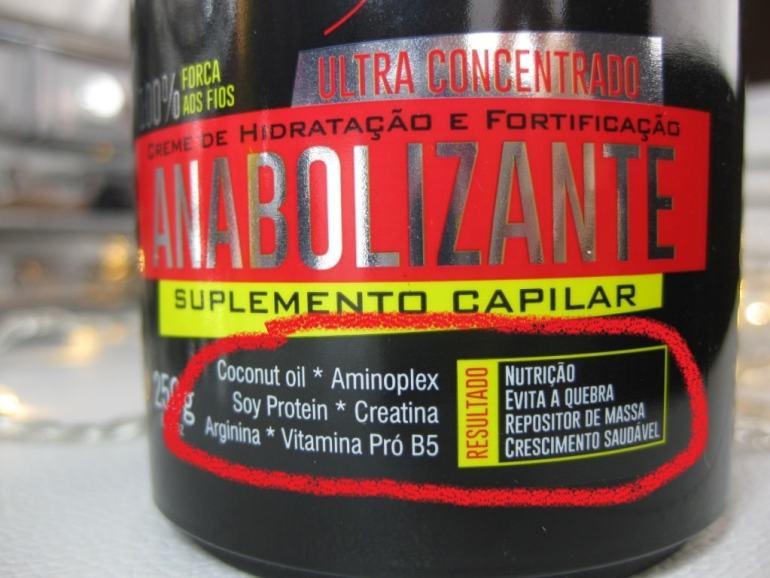 pote anabolizante capilar forever liss componentes da fórmula