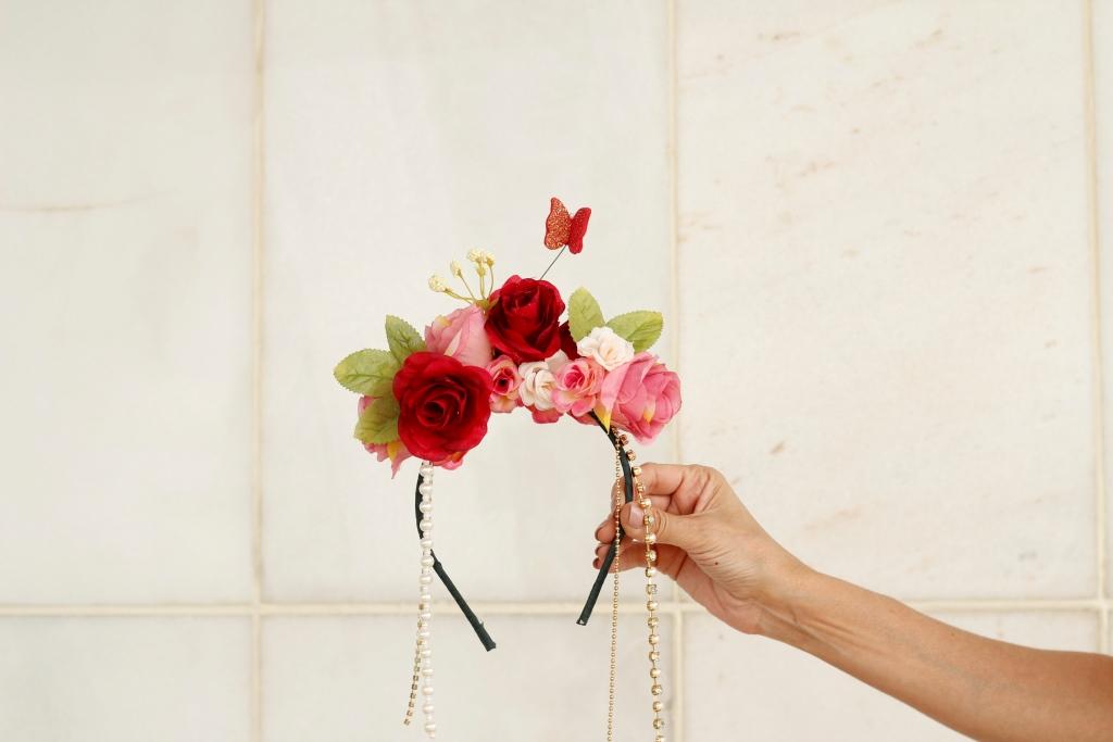 tiara flores carnaval drops blog da ana