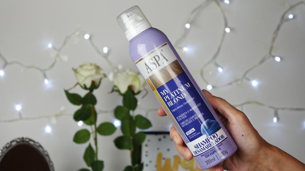 kit desamarelador aspa my platinum blod shampoo blog da ana