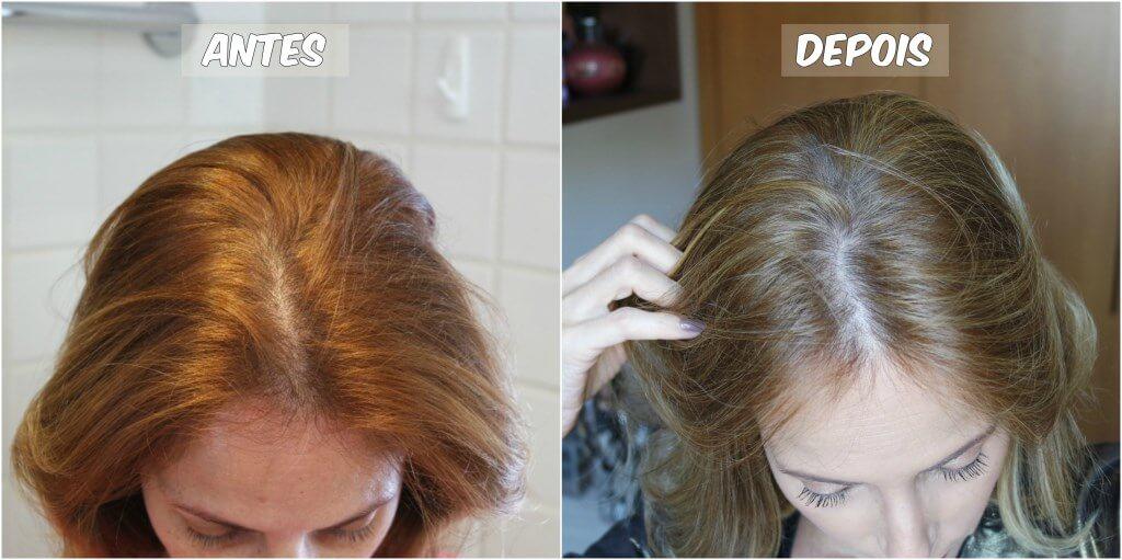 mechas touca de silicone loira antes e depois blog da ana