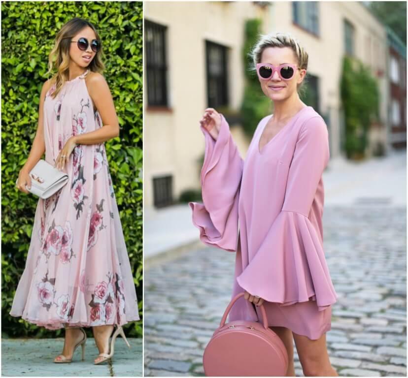 millennial pink look vestido blog da ana