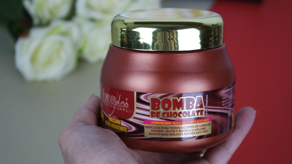 resenha máscara bomba de chocolate forever liss pote blog da ana
