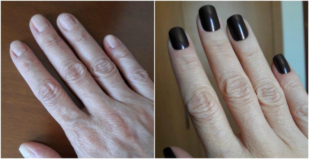 unhas postiças tutorial blog da ana antes e depois