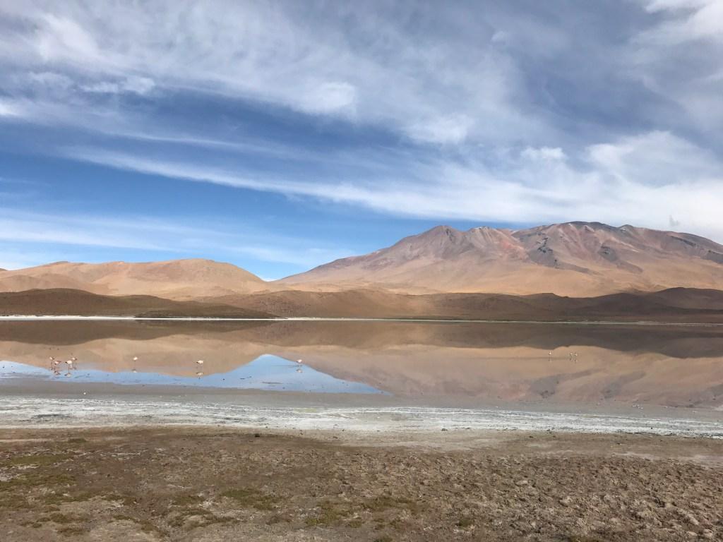 Lagunda Hedionda. De carro para o Salar do Uyuni e Atacama