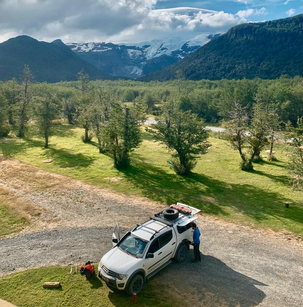 Viagem de carro pela América do Sul, Cerro Tronador