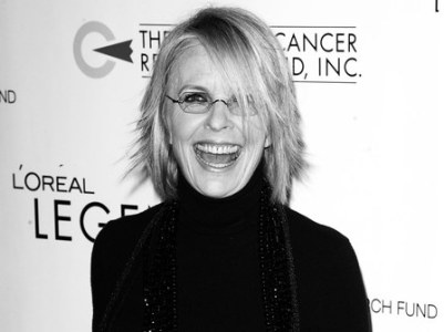 Diane Keaton during L'Oreal Legends Gala Benefiting the Ovarian Cancer Research Fund at American Museum of Natural History in New York City, New York, United States. (Photo by James Devaney/WireImage)