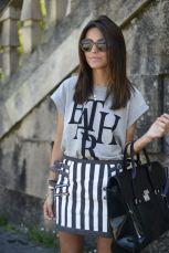 skirt-and-graphic-shirt