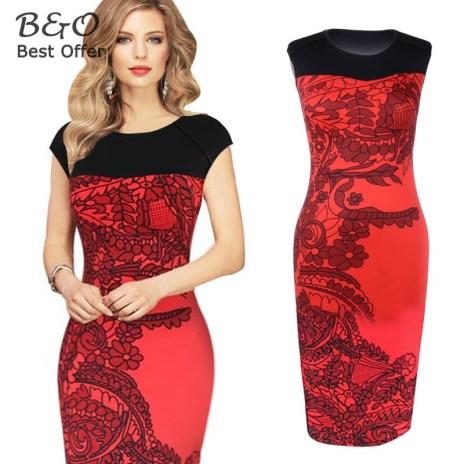 Women-Office-Dress-Plus-Size-Women-Elegant-OL-Pencil-Dress-Casual-Bandage-Bodycon-Party-Dresses-Vestidos