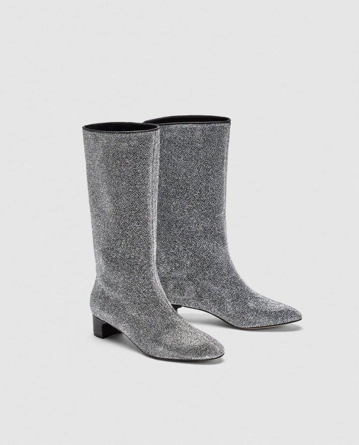 Zara-Glitter-Booties