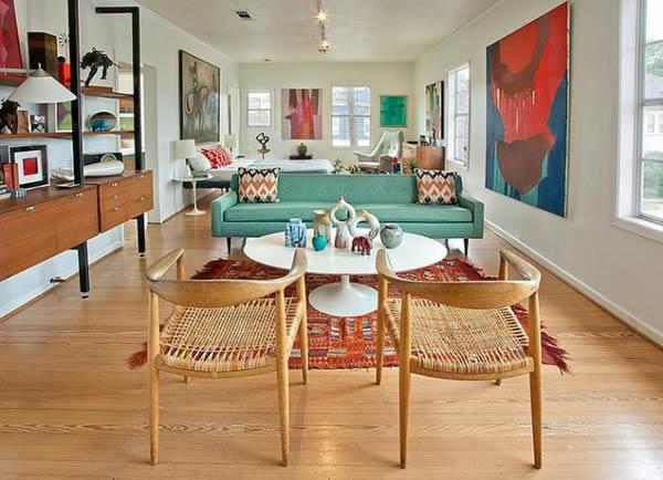 16 Ambientes Decorados Com Móveis Coloridos