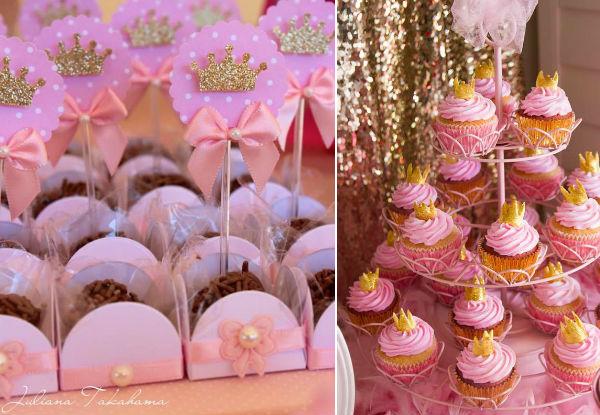 Festa da Princesa Bolo Decorao Dicas