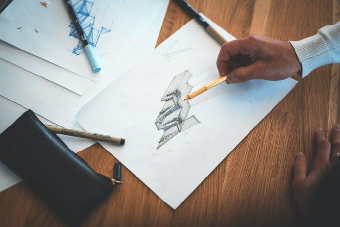 recém-formado desenhando