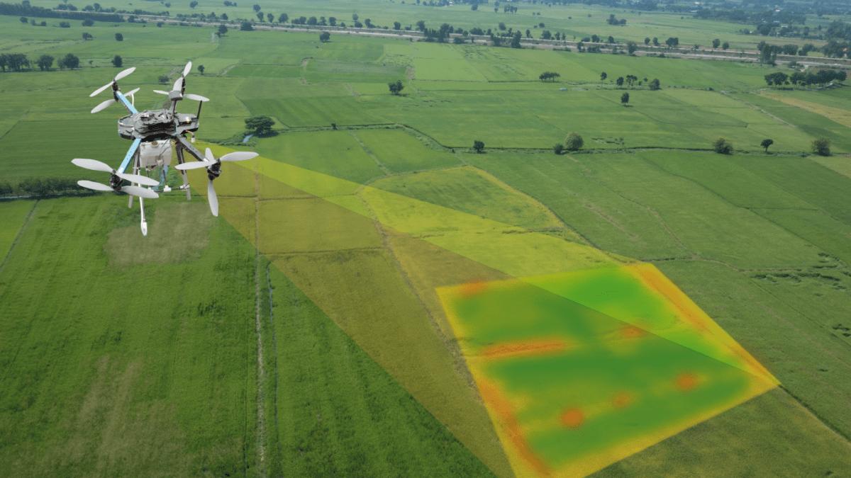 Levantamento topográfico por Drones