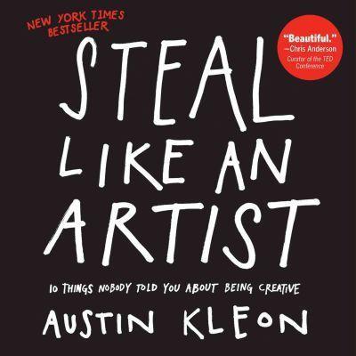 livro Roube como um artista - Austin Kleon