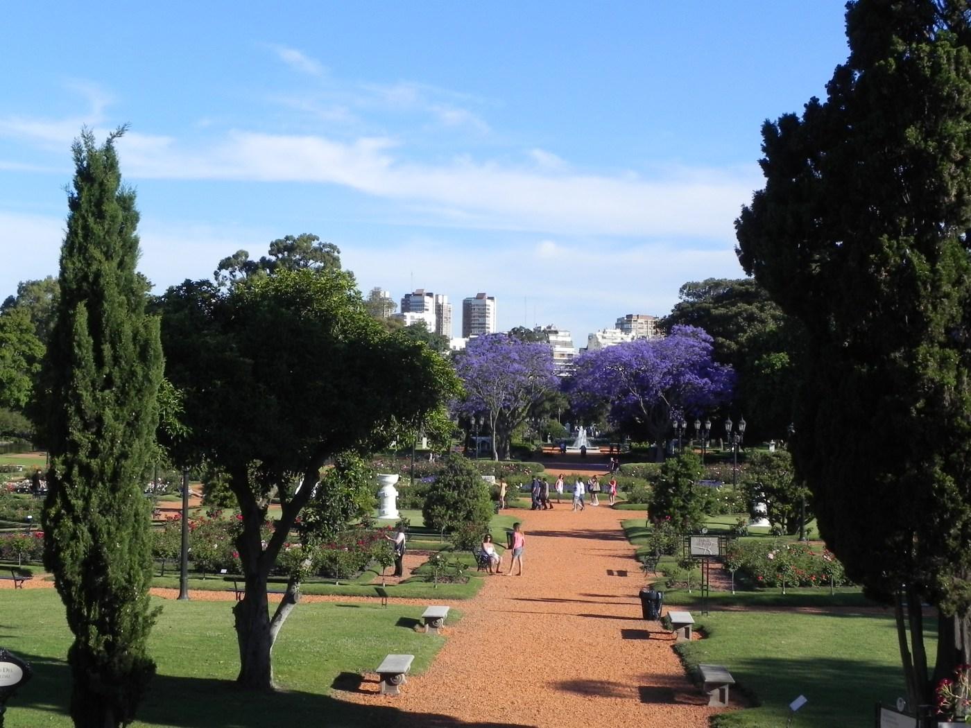 El Rosedal (Jardim das Rosas) - Buenos Aires - Blog da Flaviana