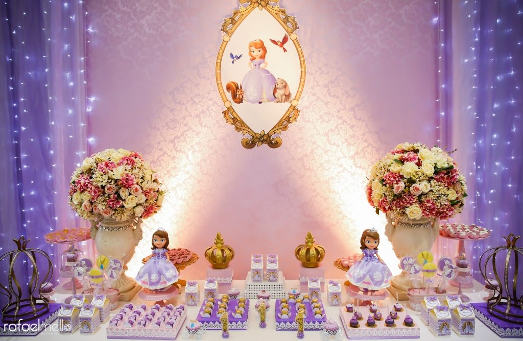 Festa da Princesa Sophia  1 Ano  Blog da Flaviana