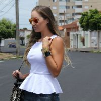 Look- Peplum