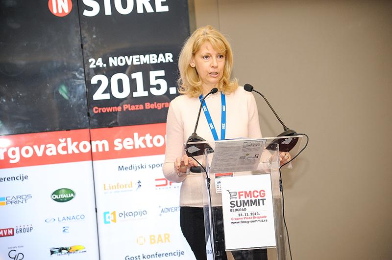 Zorica Manojlović; Izvor: fmcg-summit.rs