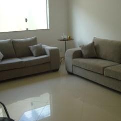 Sofas Modernos Para Sala De Tv Diy Rustic Sofa Table Salas Blog Da Reforma Página 5