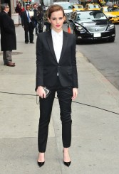 Emma Watson At The 'Late Show With David Letterman'