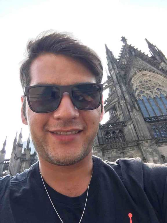 Cagatay Oezbay Arrival in Cologne