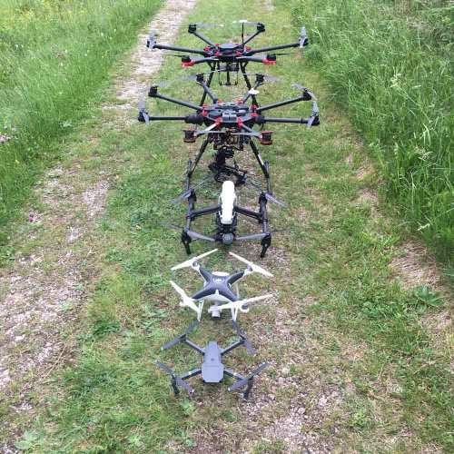 Drohnen LineUp