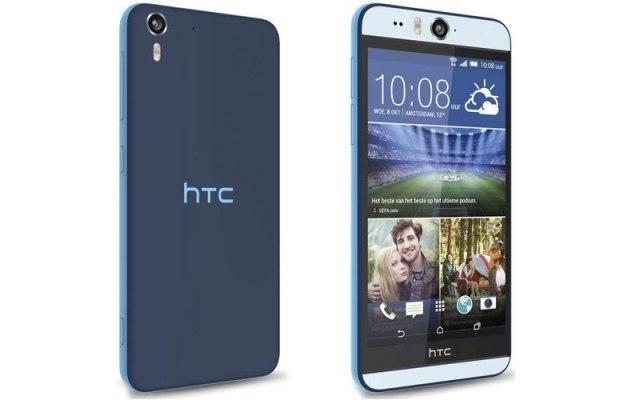 mejores celulares 2015 para hacer selfies - htc desire eye