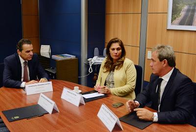 Prefeita Maria de Fátima e ex-prefeito João Wilson são recebidos pelo ministro do Turismo, Henrique Alves