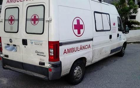 Ambulância recolhida ao pátio do Detran