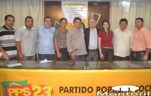 Vereador Maurício e comitiva no evento do PPS em Natal(foto:Marco Montoril)