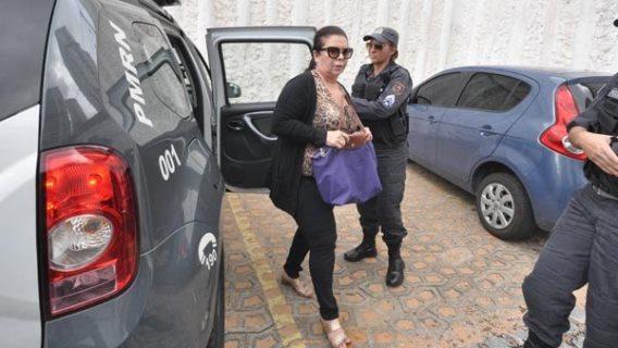Rita das Mercês estava presa desde a última quinta-feira(foto: Magnus Nascimento)
