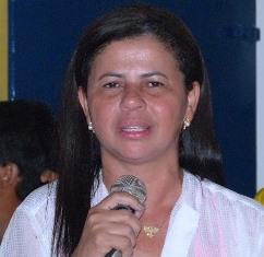 Prefeita Neidinha do municípío de Maxaranguape