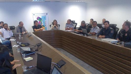 Reunião discute ação integrada das policias militar em civil