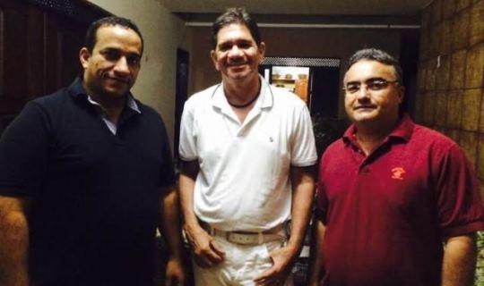 Coronel Fernandes, ex-prefeito José Antônio e vereador Dércio