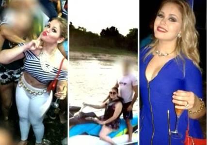 Prefeita de Bom Jardim(MA) ostentava boa vida nas redes sociais(fotos:TV Mirante)