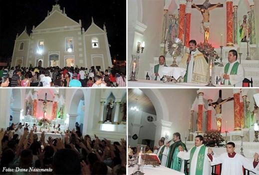 Primeira noite do jubileu(fotos: Dione Nascimento/Touros1501)