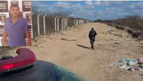 Local onde o jovem foi encontrado morto(foto: O câmara)