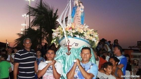 Procissão de Nossa Senhora dos Navegantes em Guamaré