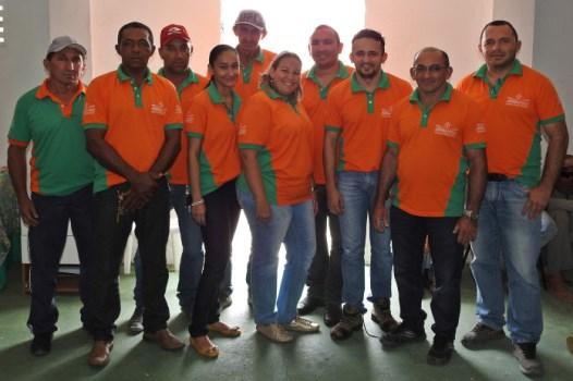 Equipe completa da secretaria da infraestrutura