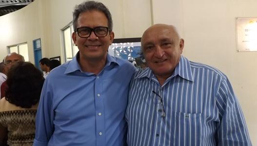 Deputado Hermano Morais e o vice-prefeito de João Câmara Josafá Araújo