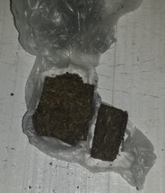 Droga encontrada na DP de Jucuruu