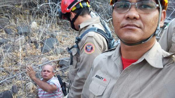 Blogueiro Evanuel Ataliba é encontrado e resgatado no Pico do Cabugi
