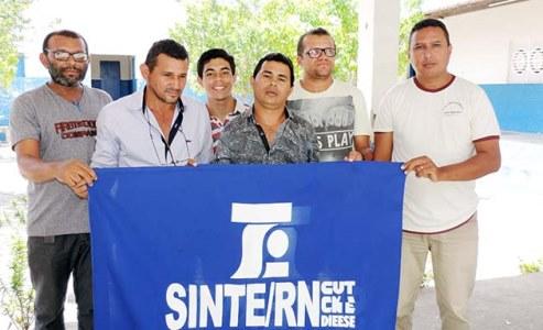 Gilson Clementino, Elias Luiz, Nailton Miguel, Frqancisco Melo, Mateus e Jailson Dantas